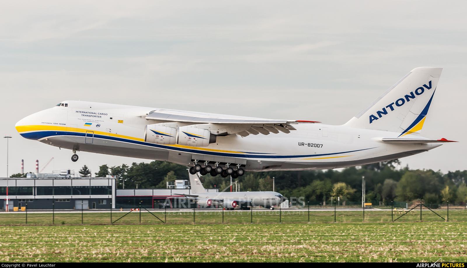 Antonov Airlines /  Design Bureau UR-82007 aircraft at Pardubice