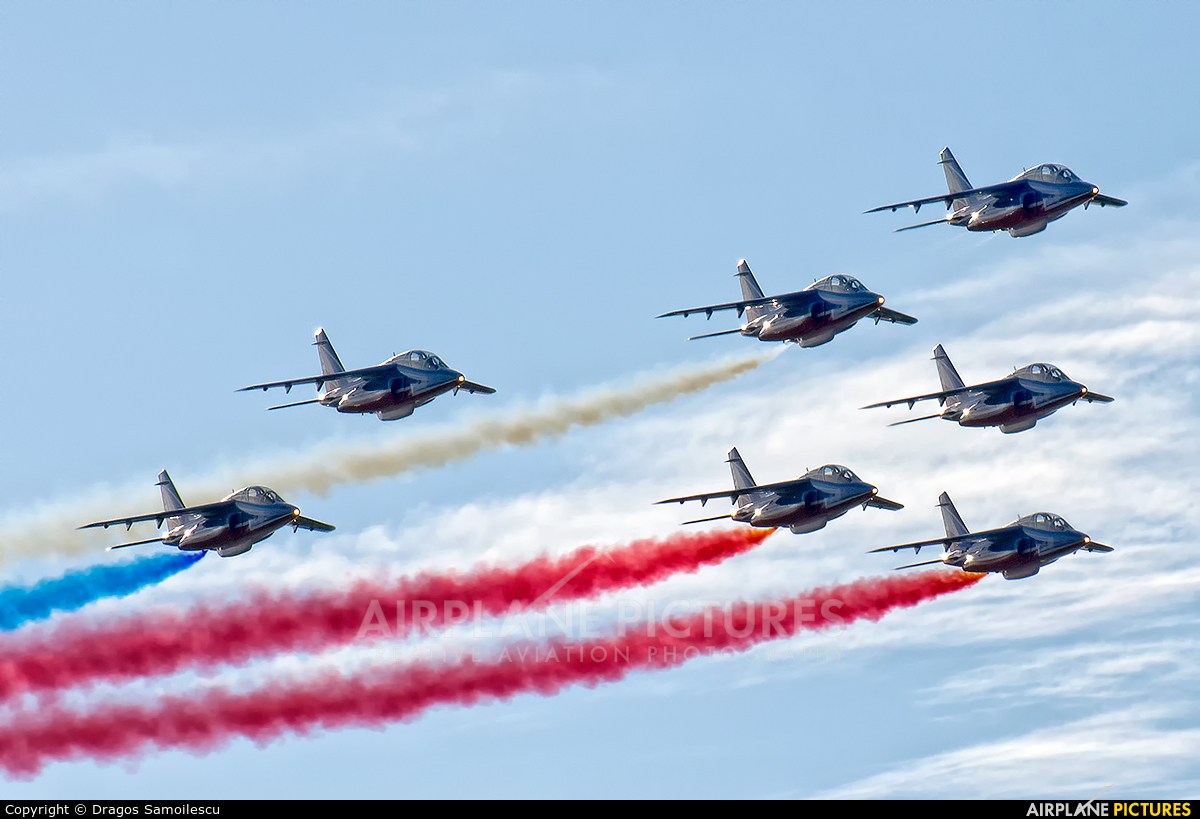 "France - Air Force ""Patrouille de France"" - aircraft at Kleine Brogel"
