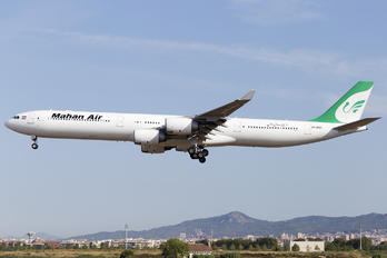 EP-MME - Mahan Air Airbus A340-600