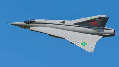 SE-DXR - Swedish Air Force Historic Flight SAAB J 35J Draken