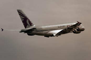 A7-APJ - Qatar Airways Airbus A380