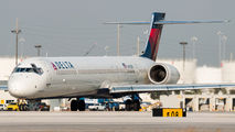 N912DN - Delta Air Lines McDonnell Douglas MD-90 aircraft