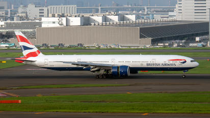 G-STBI - British Airways Boeing 777-300