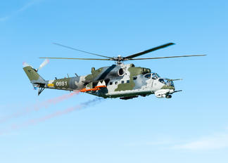 0981 - Czech - Air Force Mil Mi-24V
