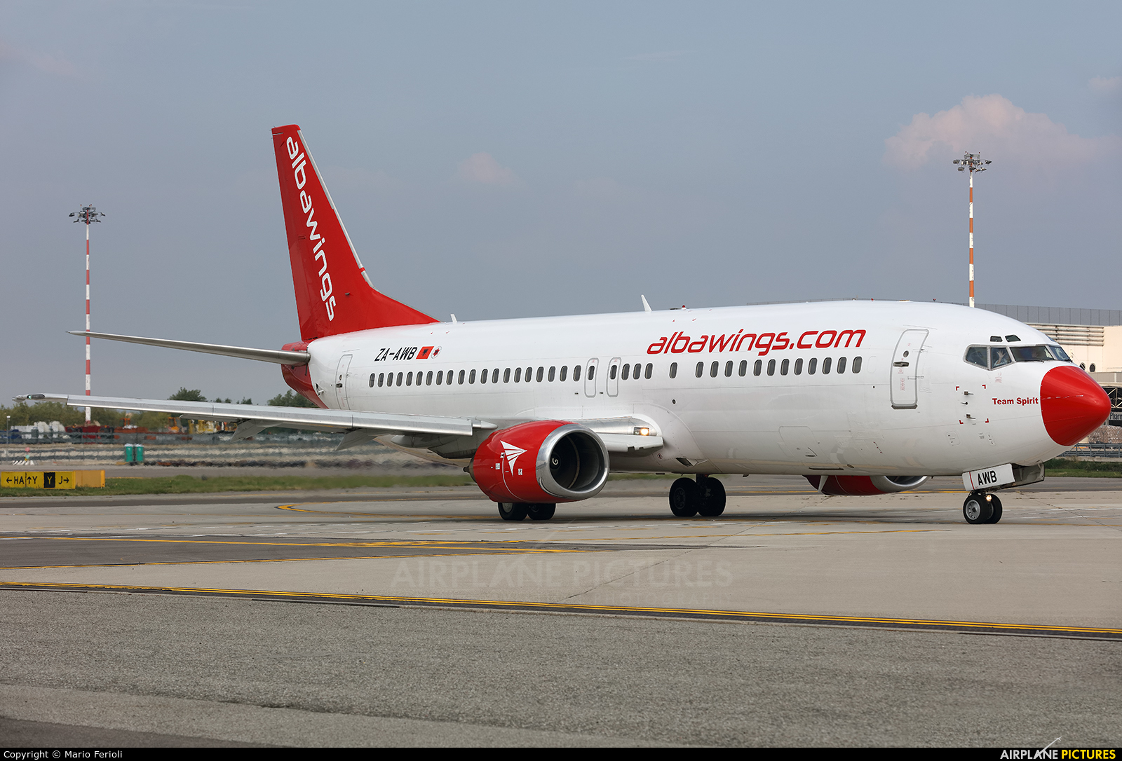Albawings ZA-AWB aircraft at Milan - Malpensa