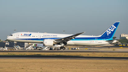 JA876A - ANA - All Nippon Airways Boeing 787-9 Dreamliner