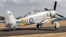 WG655 - Royal Navy Hawker Sea Fury T.20 aircraft