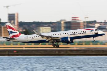 G-LCYN - British Airways - City Flyer Embraer ERJ-190 (190-100)