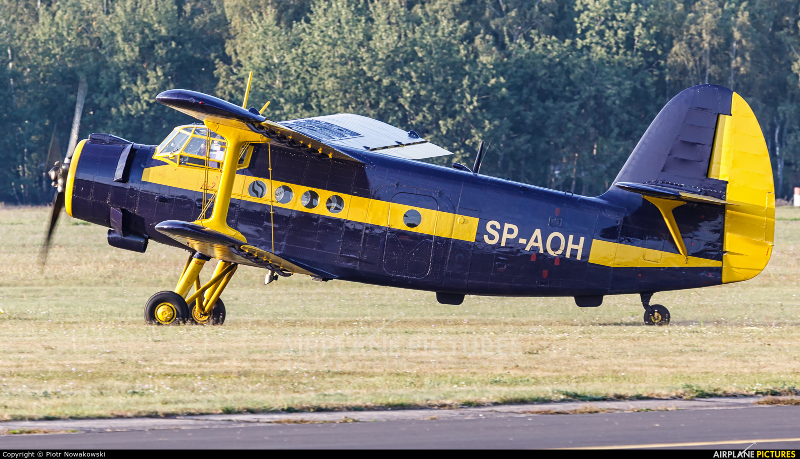Aeroklub Ziemi Lubuskiej SP-AOH aircraft at Warsaw - Babice
