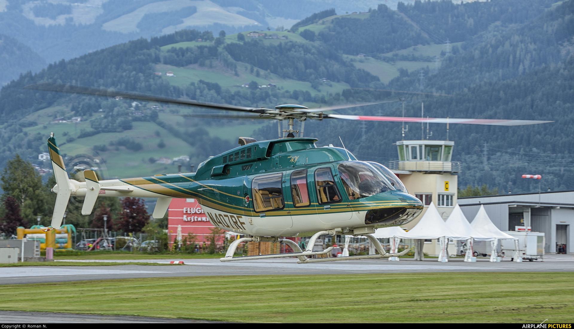 Private N407RF aircraft at Zell am See