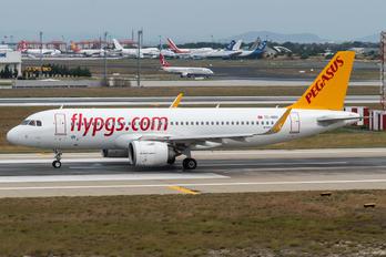 TC-NBO - Pegasus Airbus A319 NEO