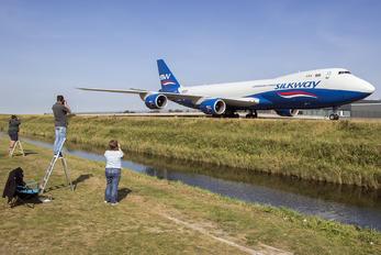 #1 Silk Way Airlines Boeing 747-8F VQ-BWY taken by Enda G Burke