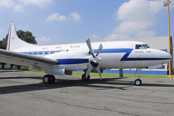 3907 - Mexico - Air Force Convair CV-580