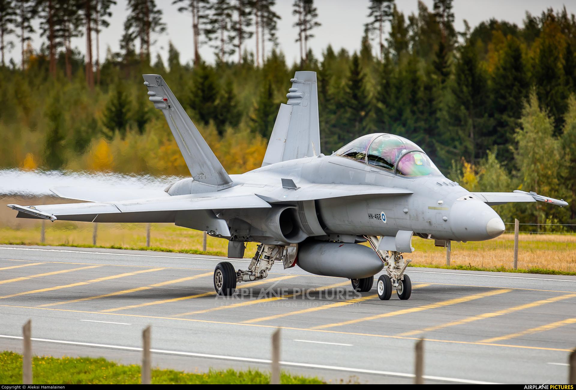 Finland - Air Force HN-462 aircraft at
