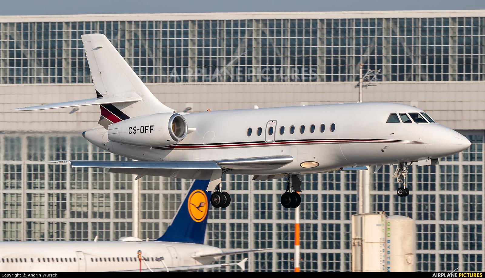 NetJets Europe (Portugal) CS-DFF aircraft at Munich