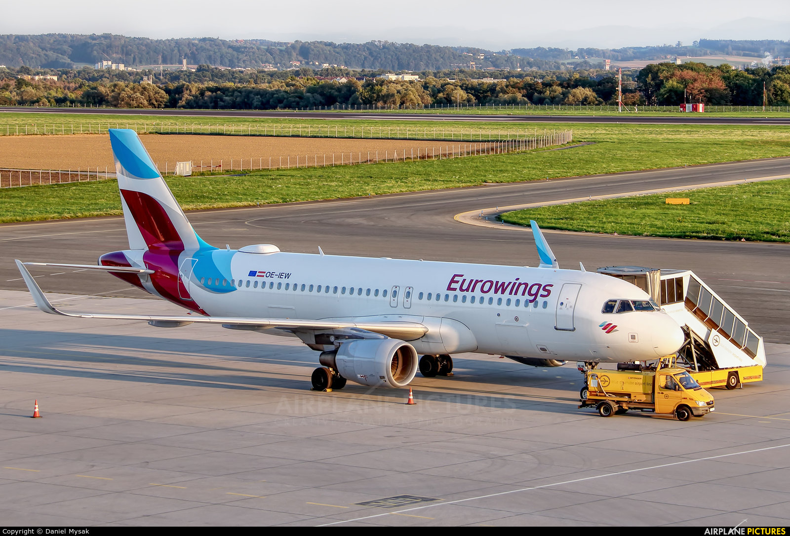 Eurowings Europe OE-IEW aircraft at Linz