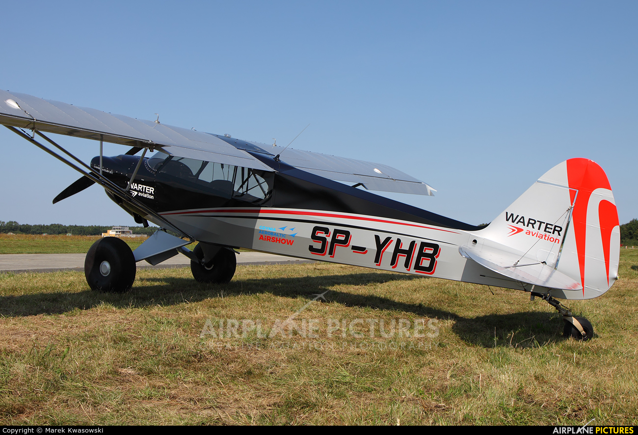 SP-YHB - Private Cub Crafters Carbon Cub SS at Gdynia- Babie