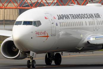 JA08RK - JAL - Japan Transocean Air Boeing 737-800
