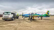 """FAB5703 - Brazil - Air Force """"Esquadrilha da Fumaça"""" Embraer EMB-314 Super Tucano A-29A aircraft"""