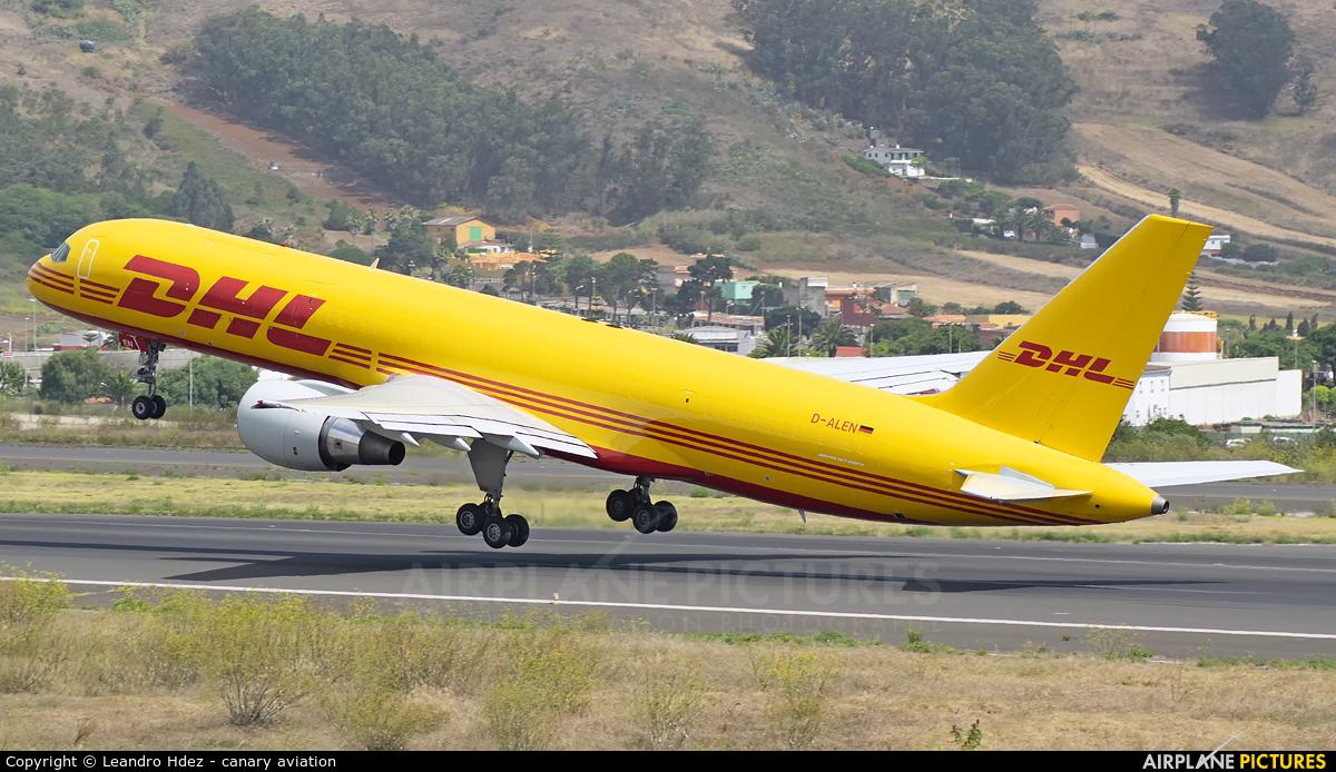 DHL Cargo D-ALEN aircraft at Tenerife Norte - Los Rodeos