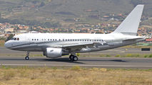 LX-GJC - Global Jet Luxembourg Airbus A318 CJ aircraft