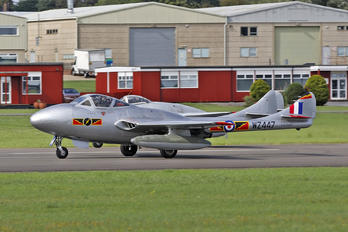 LN-DHZ - Private de Havilland DH.115 Vampire T.55