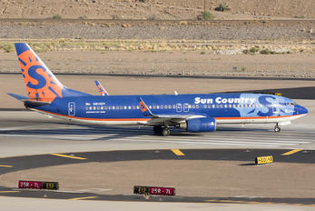 N814SY - Sun Country Airlines Boeing 737-800
