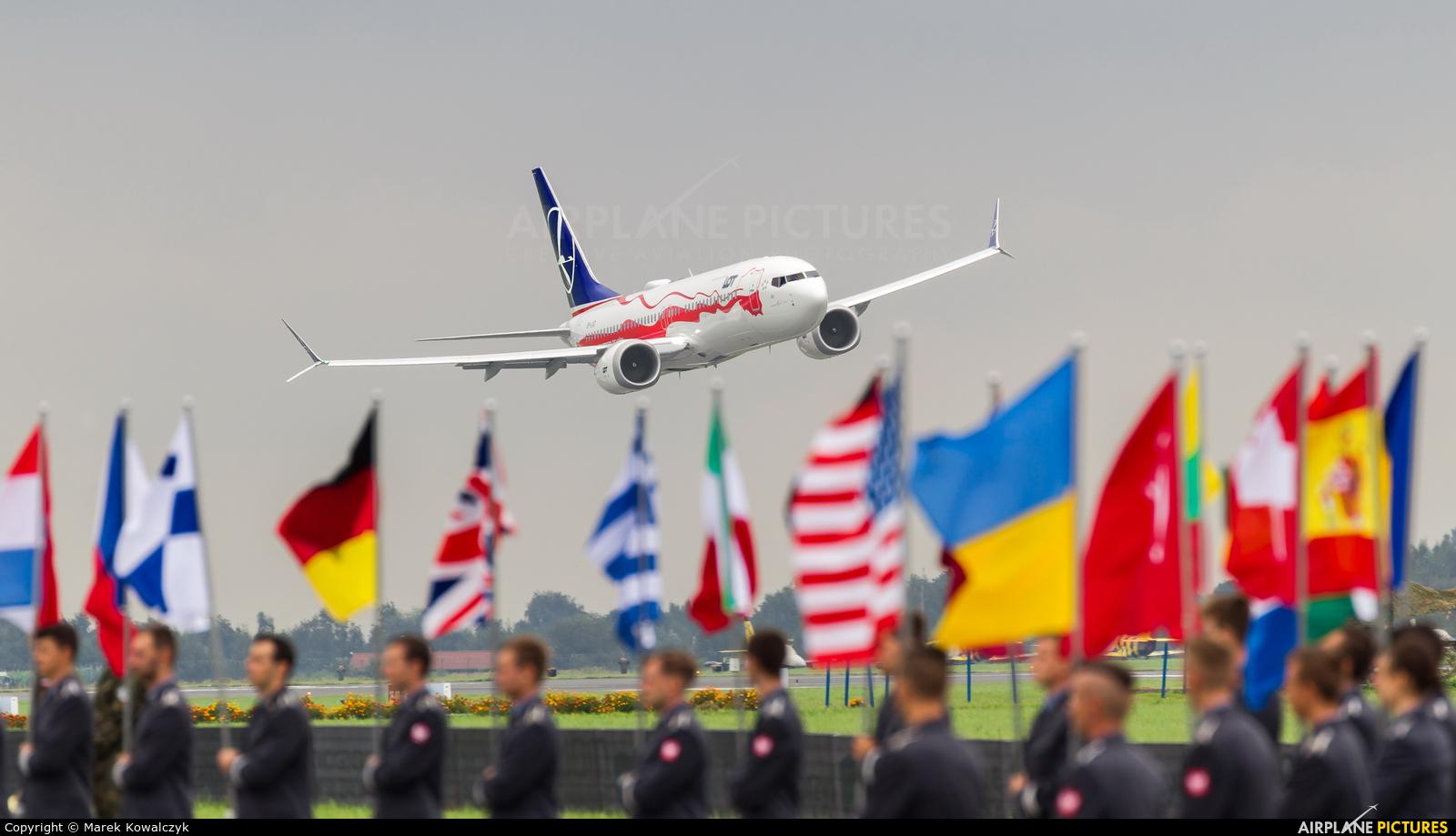 LOT - Polish Airlines SP-LVD aircraft at Radom - Sadków