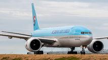 HL8076 - Korean Air Cargo Boeing 777F aircraft