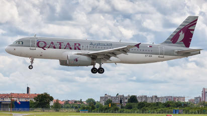 A7-ADI - Qatar Airways Airbus A320
