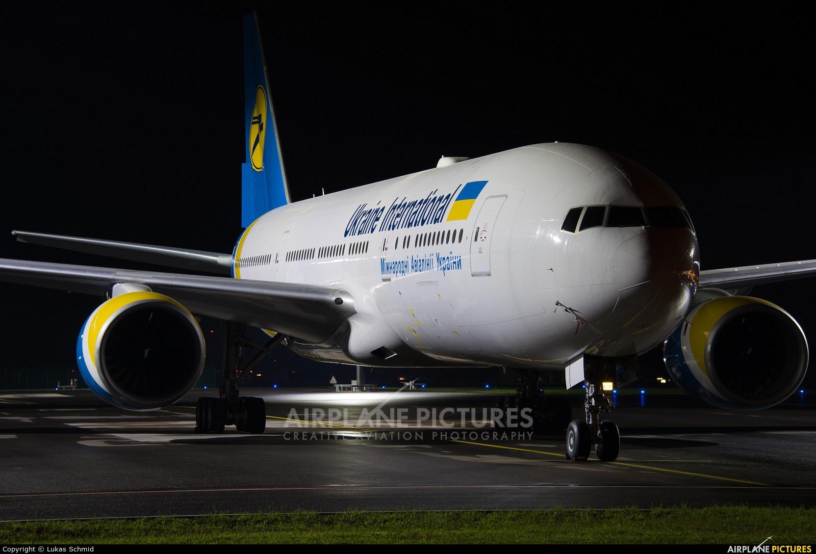 Ukraine International Airlines 2-AERC aircraft at Zurich