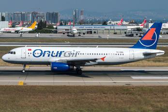 TC-OBL - Onur Air Airbus A320