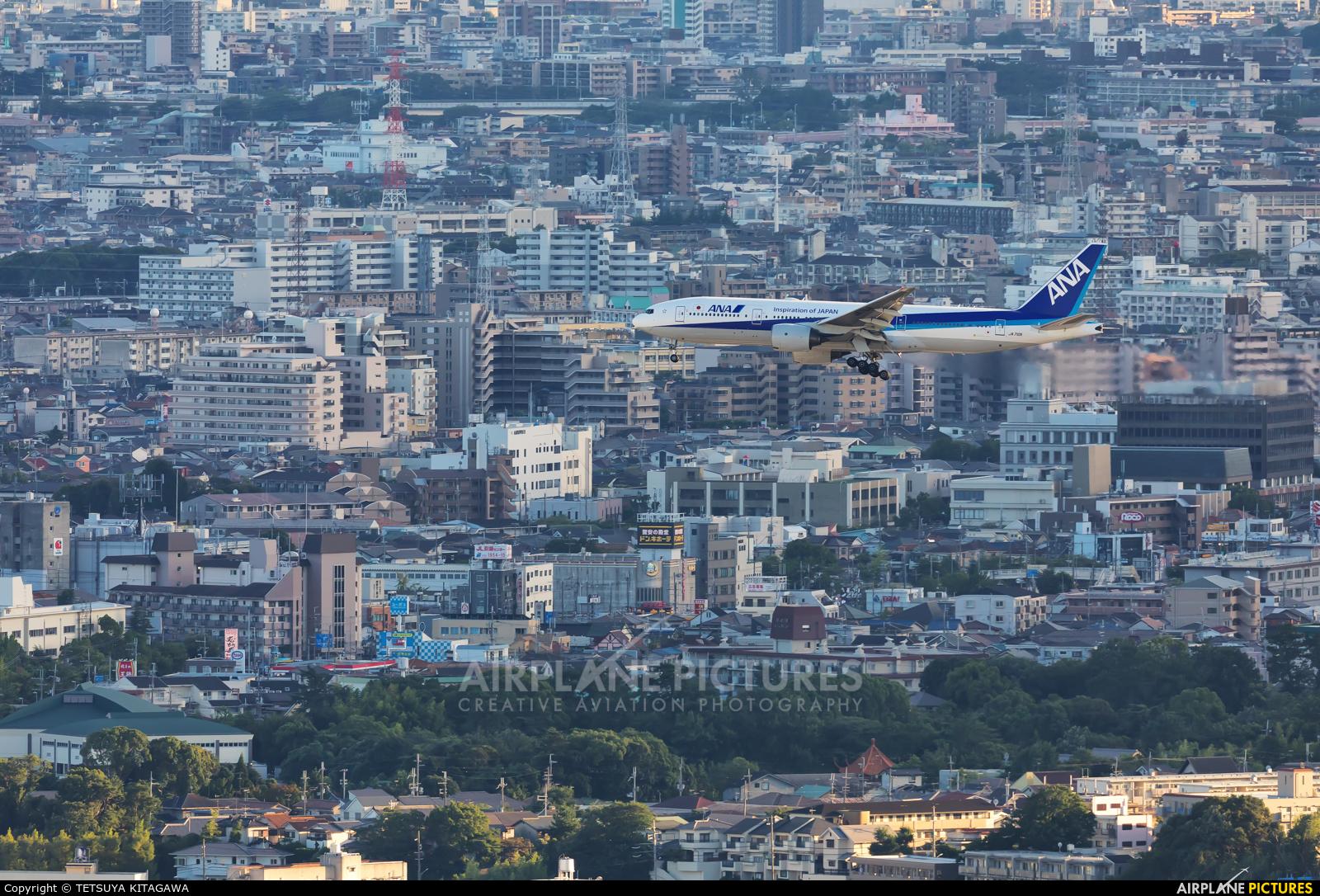 ANA - All Nippon Airways JA710A aircraft at Osaka - Itami Intl