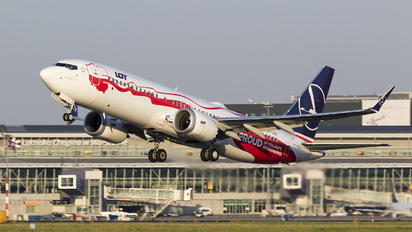SP-LVD - LOT - Polish Airlines Boeing 737-8 MAX