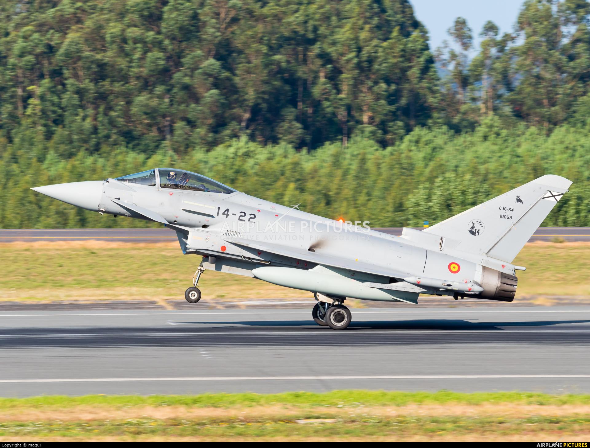 Spain - Air Force C.16-64 aircraft at Santiago de Compostela