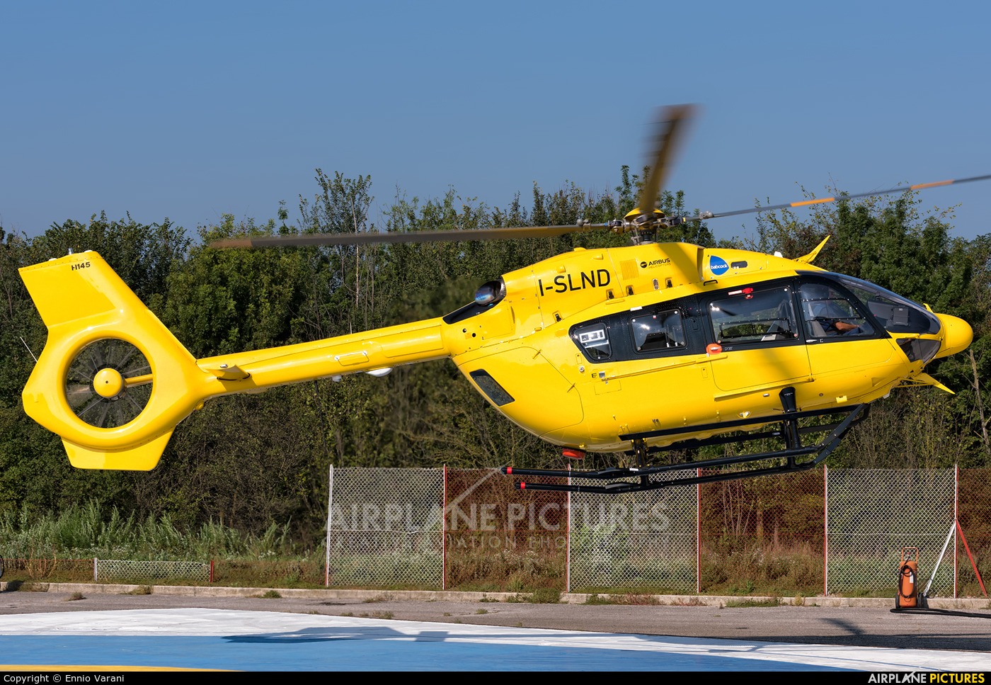 Babcok M.C.S Italia I-SLND aircraft at Off Airport - Italy