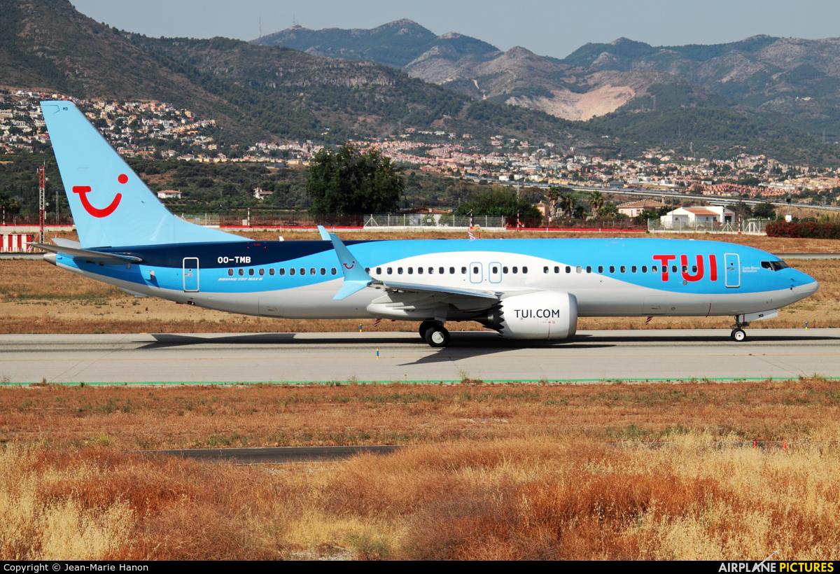 TUI Airlines Belgium OO-TMB aircraft at Málaga