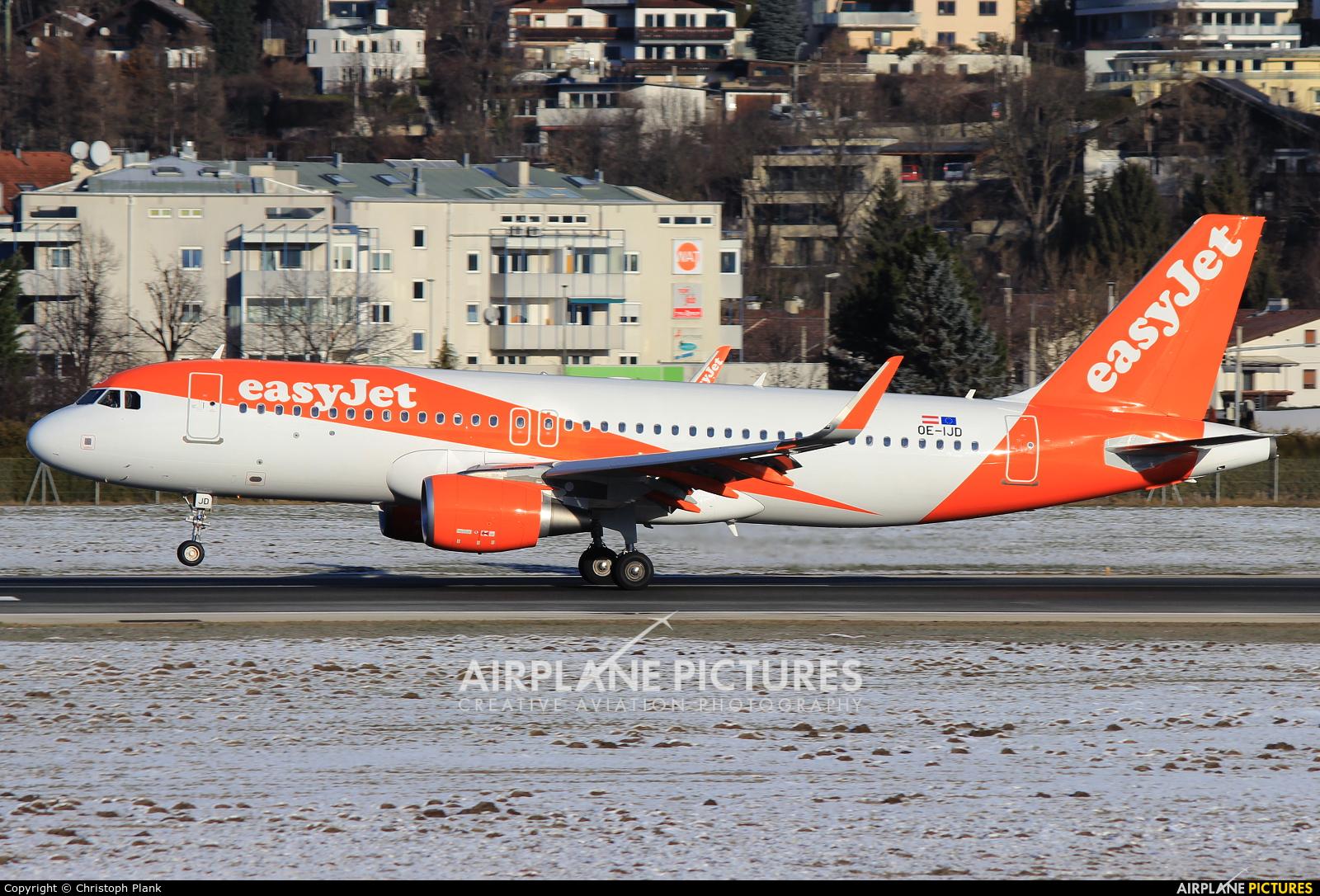 easyJet Europe OE-IJD aircraft at Innsbruck