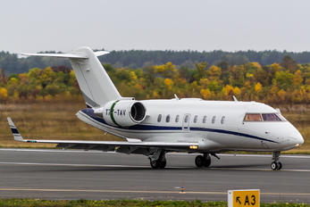 T7-TAV - Private Bombardier CL-600-2B16 Challenger 604
