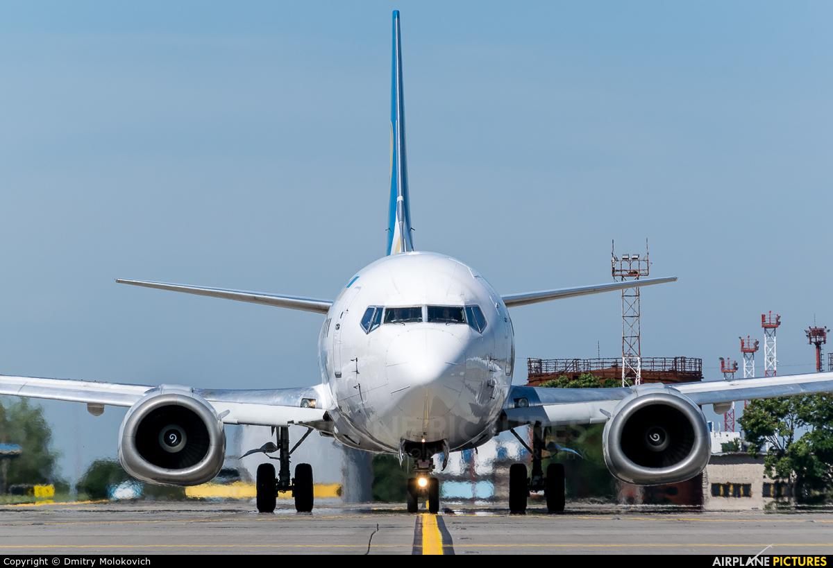 Ukraine International Airlines UR-GBA aircraft at Kiev - Borispol