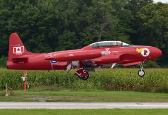 C-FUPP - Jet Aircraft Museum Canadair CT-133 Silver Star 3