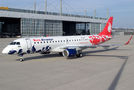 Delivery flight of new Embraer 190 for Buta Airways