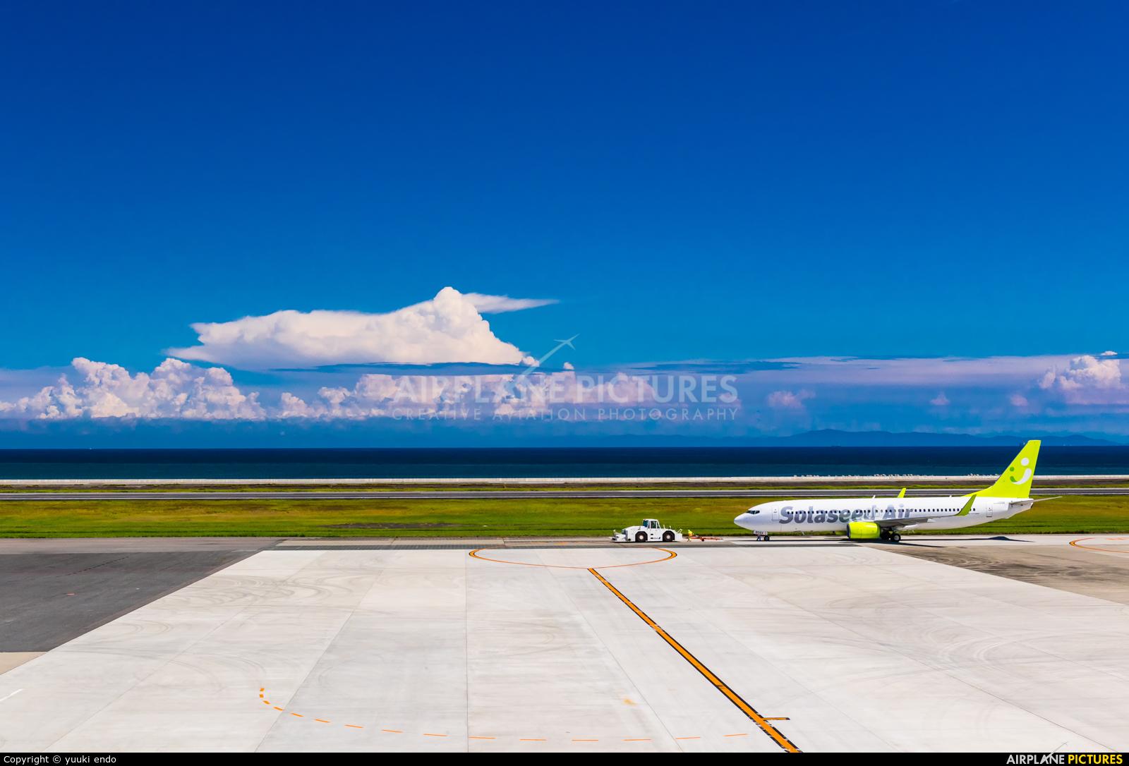 Solaseed Air - Skynet Asia Airways JA809X aircraft at Oita