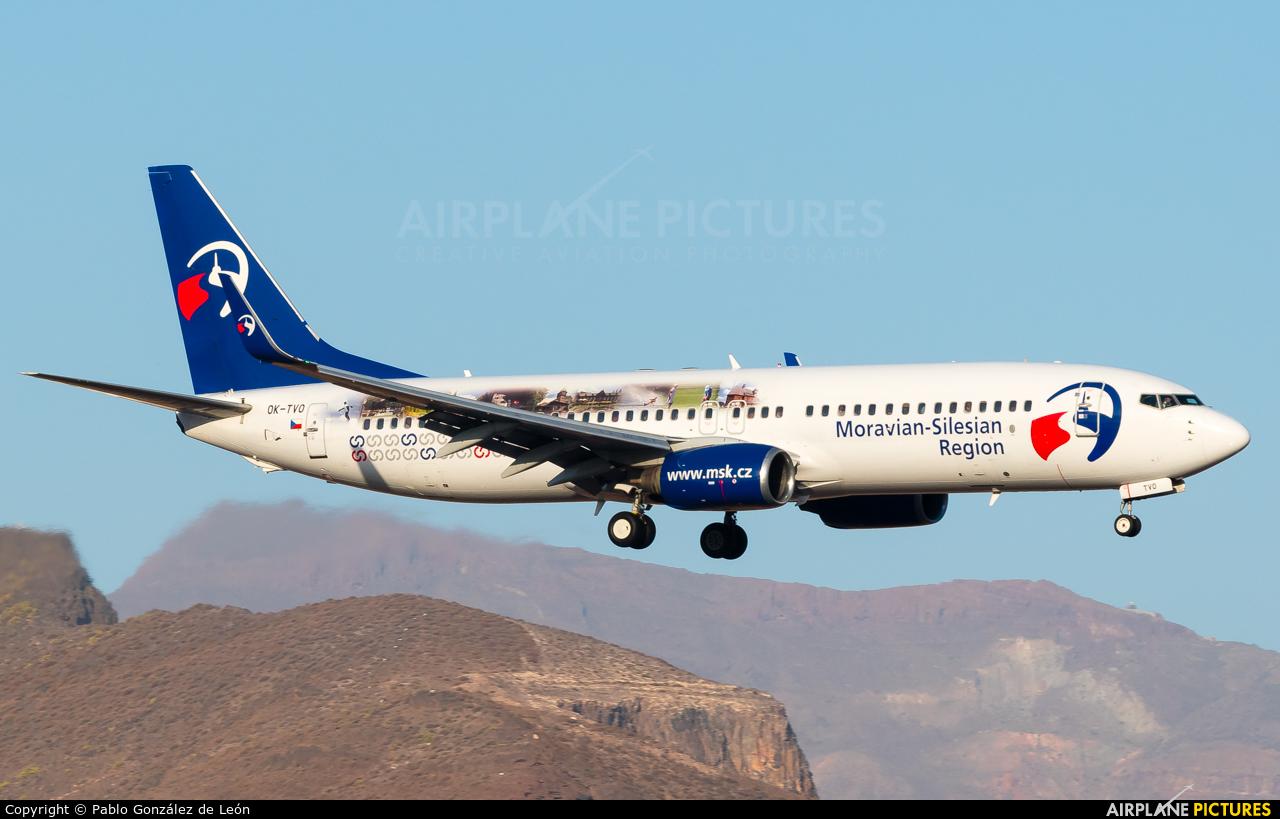 Travel Service OK-TVO aircraft at Aeropuerto de Gran Canaria