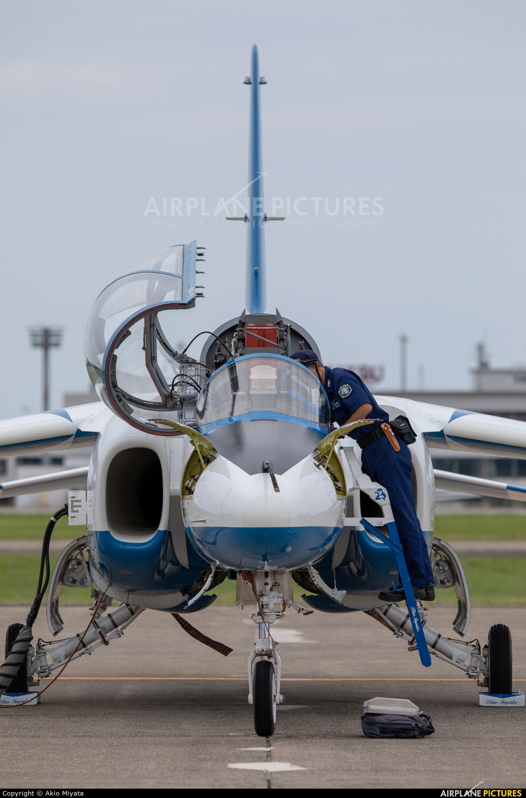 Japan - ASDF: Blue Impulse 06-5787 aircraft at Komatsu