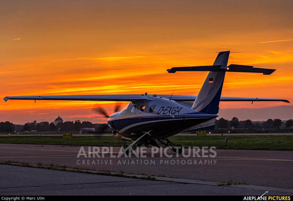 Private D-EXGA aircraft at Augsburg