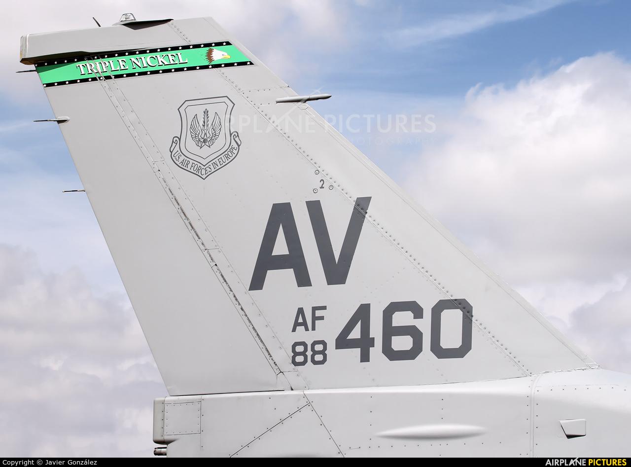USA - Air Force 88-0460 aircraft at Albacete