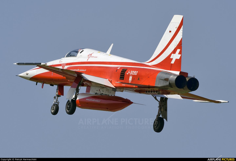 Switzerland - Air Force:  Patrouille de Suisse J-3090 aircraft at Radom - Sadków