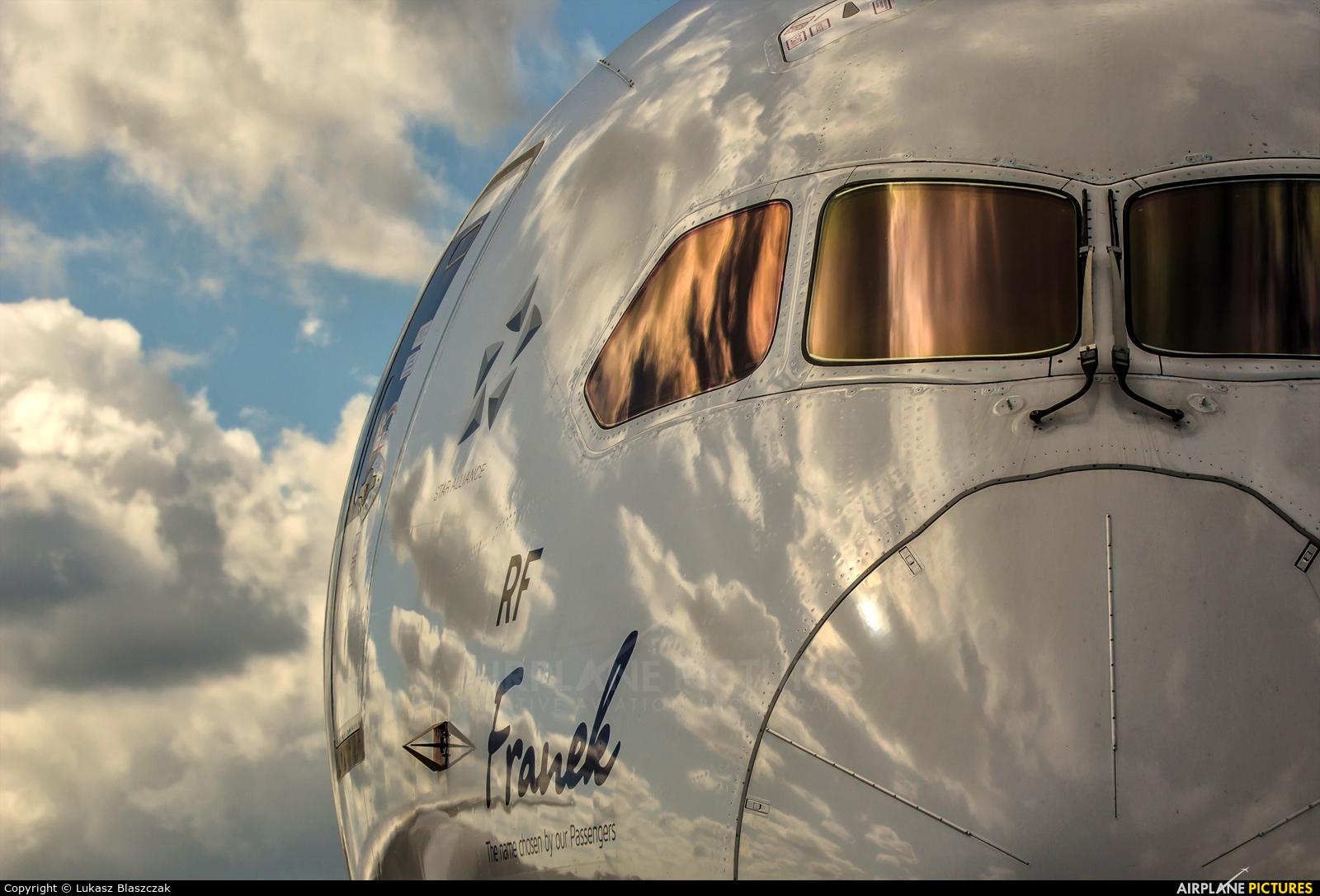 LOT - Polish Airlines SP-LRF aircraft at Warsaw - Frederic Chopin