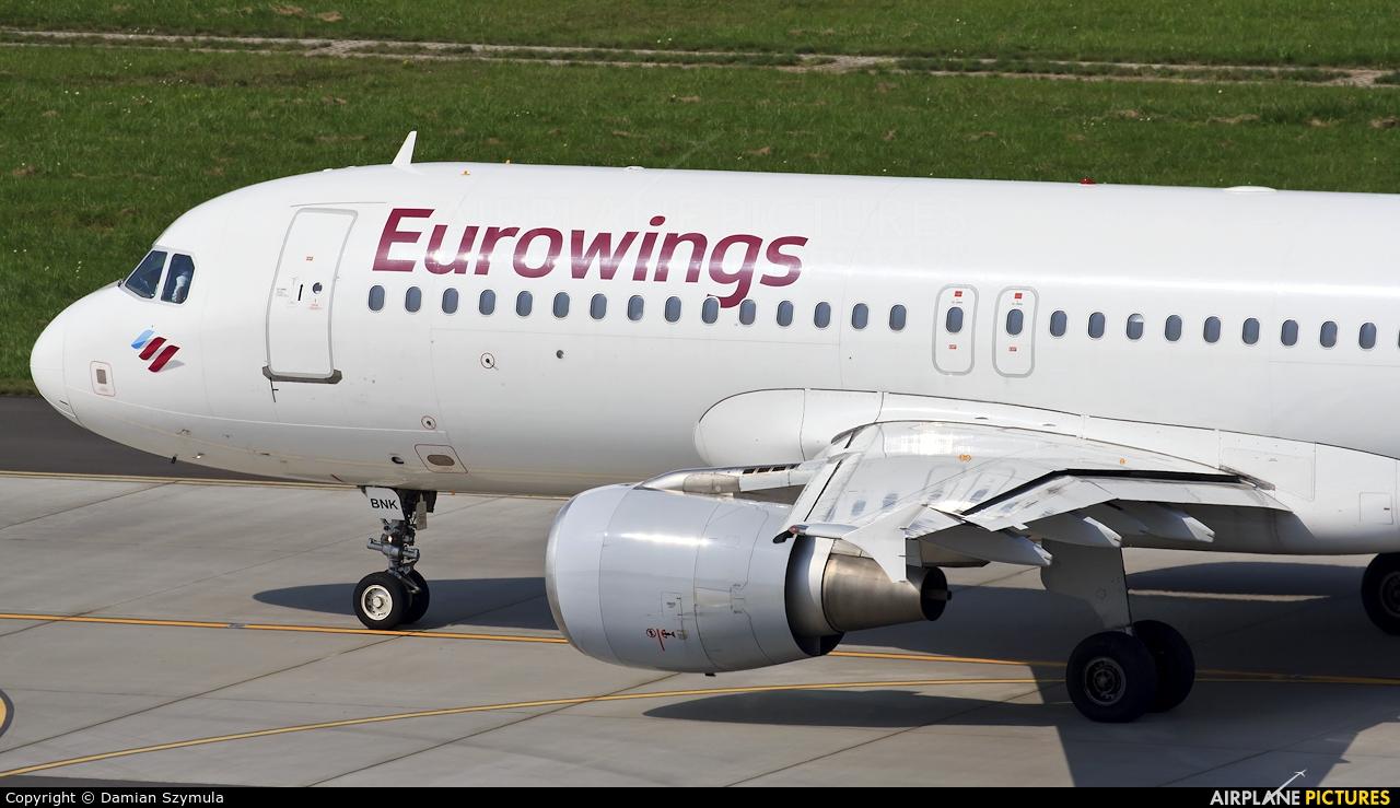 Eurowings D-ABNK aircraft at Kraków - John Paul II Intl